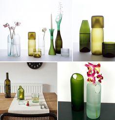 DIY: Cómo cortar las botellas de cristal y otras ideas para reciclar materiales que tenemos en casa | #Reciclaje - #DIY – Recycling ecoagricultor.com