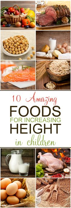 Worried about child's poor height? Looking for height increasing food & diet plan to grow taller? Read 10 best foods to increase height in children.