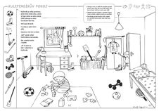 KuliFerdík - pracovní sešit pro děti mladšího předškolního věku na celý školní rok Preschool, Diagram, Kids, Young Children, Boys, Kid Garden, Children, Kindergarten, Boy Babies