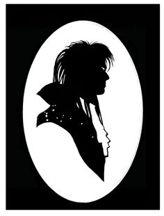In all of his statuesque glory, the Goblin King stands, pondering his next move. Print by Jordan Monsell
