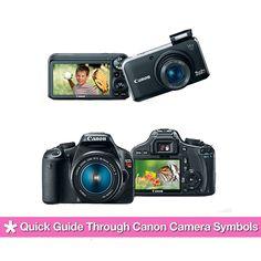 Quick Guide Through Canon Camera Symbols - www.geeksugar.com