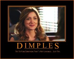 My thoughts exactly. Dr. Maura Isles is the epitome of loveable. Seriously :)