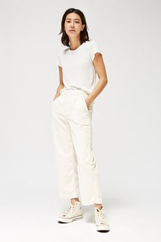 Frankie Trousers - LACAUSA CLOTHING