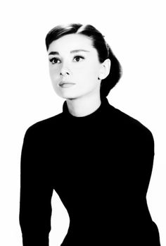 """Audrey Hepburn in a promotional shot for """"Funny Face"""" in 1956 by Richard Avedon. """"AL"""""""