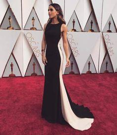 Carolina Patrocínio partilhou no Instagram a sua passagem pela passadeira vermelha dos Oscars.