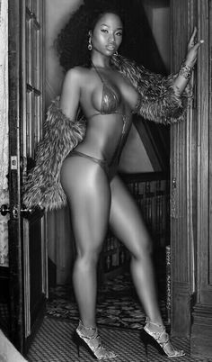 Sexy in black and white.