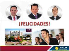 El equipo de COACH Latinoamérica felicita a su Director y Master Coach de Negocios, Rigoberto Acosta, y a los Coaches de Negocios, Luis y Gonzalo, por el magnífico Entrenamiento que se encuentran brindando en León, Guanajuato, México.  ¡Mucho Éxito!
