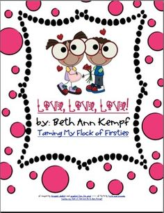 Free!!! Valentines Day!! 60 pages for Printables, math, literacy & fun!!!