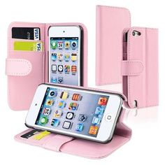 eForCity Leather Wallet Case with Card Holder for Apple iPod touch Pink Cute Ipod Cases, Ipod Touch Cases, Ipod Touch 6th, Iphone Cases For Girls, Target, Ipod Touch 5th Generation, Bling, Diy Phone Case, Diy For Girls