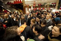 Dip in October retail sales ahead of expected surge during Black Friday and Christmas