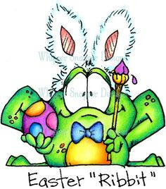 """Easter """"Ribbit"""""""