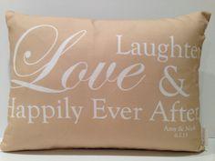 Wedding Pillow  wedding date wedding by ThreelilStitches on Etsy