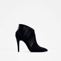 ZARA - COLLECTION SS16 - CUT WORK HIGH HEEL ANKLE BOOTS