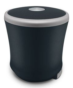Loving this Black & Gunmetal Haze Bluetooth Speaker on #zulily! #zulilyfinds