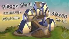 Sims 4 House Plans, Sims 4 House Building, Sims Challenge, Sims 4 House Design, Casas The Sims 4, Sims 4 Cc Packs, Sims Four, Sims 4 Build, Sims Community