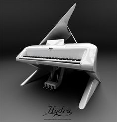 If you have a bone to pick with regards to the designing of the Hydra Piano, you better fight Lady Gaga then. Apostol Tnokovski was enjoying Piano Funny, Funny Ads, Coffee Table Design, Music Stuff, Art Music, Lady Gaga, Musicals, Music Instruments, Pure Products