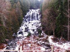 The Falls in Colebrook, NH