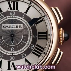 """Cartier Rotonde Central Chronograph - """"42mm Rose Gold"""" REF: W1555951 
