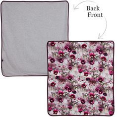 Molo Baby Girls Floral 'Neala' Jersey Blanket (85cm) at Childrensalon.com