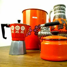 Added a few items, one of them, this Orange coffee maker...we love it