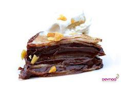Pancake day tomorrow so here's an egg free chocolate pancake cake recipe :)