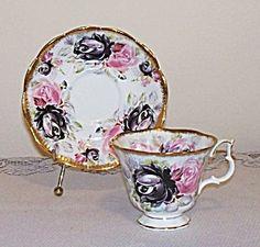 Royal Albert Summer Bounty Series Tea Cup and Saucer