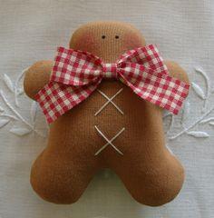 Tilda pattern: gingerbread men