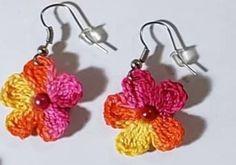 Muy sencillos y fáciles de hacer Crochet Accessories, Crochet Earrings, Jewelry, Fashion, Ear Rings, Moda, Jewlery, Jewerly, Fashion Styles