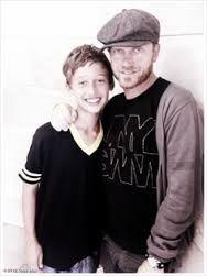 Toby Mac and his son Truett McKeehan