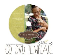 christmas cd label case templates volume two set of four