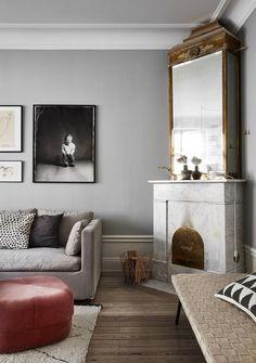 kominek - druga opcja, bardzo pasuje mi do wizji waszego salonu również otoczenie kominka - proste, eleganckie, a zarazem przyjemne i ciepłe