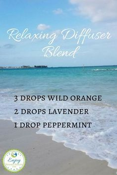 Stop anxiety in its tracks with this relaxing diffuser blend #LavenderEssentialOil
