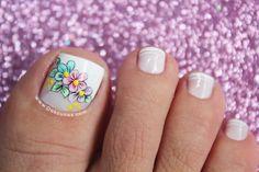 diseños de uñas para los pies 2018 - Buscar con Google Pedicure Nails, Toe Nails, Coffin Nails, Turquoise Highlights, French Pedicure, Subtle Ombre, Hot Hair Colors, Purple Shampoo, Girls Nails
