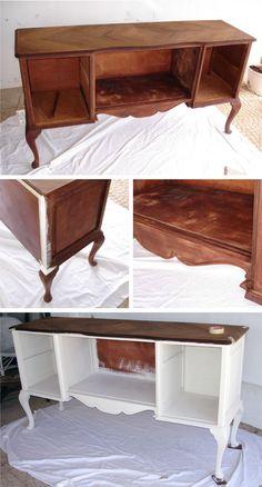 restauro de móvel antigo