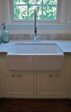 Old fashioned farm sink