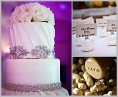 White and Purple Woodlands Winter Wedding | Houston Wedding Blog