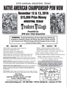 """I am excited to announce our """"27th Annual Native American Championship Pow Wow"""""""
