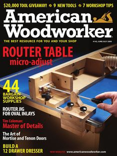 American Woodworker June/July 2009 by New Track Media - issuu