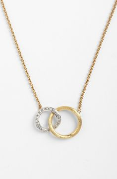 Marco Bicego 'Jaipur' Link Pendant Necklace