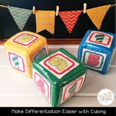Use cubing to differ