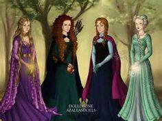rapunzel elsa anna cousins - Bing Images