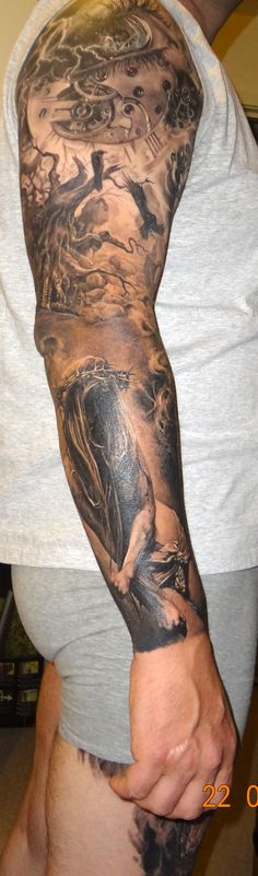 Full sleeve healed pictures of my full sleeve by Dmitriy Samohin!