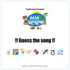 #Sunday fun is about to begin !! Guess the song !! Mention your answer in the comment section below.
