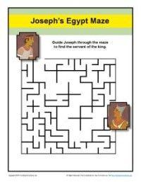 Maze - Help Joseph Find the King's Servant in Prison