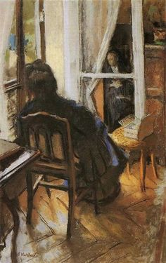 The Window - Edouard Vuillard - WikiArt.org
