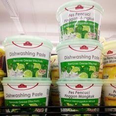 TOPVALU Dishwashing Paste 800g Lime