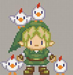 cute Link stitch pattern. <3