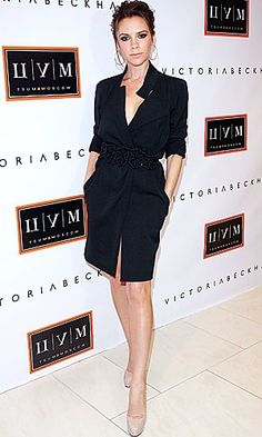 Victoria Beckham launched collection in Moscow, TSUM, 2010
