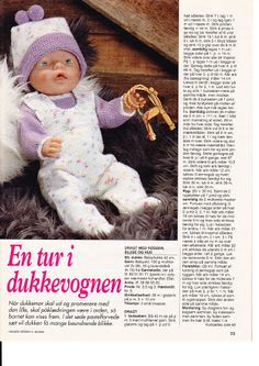 Album Archive - Dukketøj til Baby Born 2 - Ingelise Knitting Dolls Clothes, Knitted Dolls, Doll Clothes Patterns, Doll Patterns, Baby Boy Knitting Patterns, Baby Knitting, Baby Born Clothes, Baby Boy Baptism, New Baby Announcements