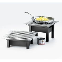 Cal-Mil Modern Alternative Chafer H x W x D - Direct from Wayfair Catering Display, Catering Food, Wedding Catering, Catering Buffet, Catering Ideas, Buffet Set Up, Buffet Ideas, Party Buffet, Barbecue